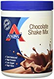 Atkins Chocolate Shake Mix, weniger Kohlenhydrate, 370 Gramm (10 Portionen)