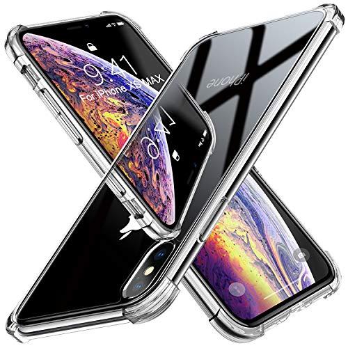 Beikell Handyhülle für iPhone XS Max, Stoßfest Anti-Kratzen für iPhone XS Max mit Ecke-Stoßfänger Design - 5 Gehäuse Iphone Rückseite