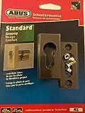 Schutzrosette für Metalltüren geeignet (Dunkelbraun)