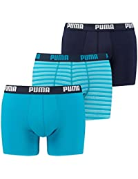 Puma Men's Stripe Boxers (Pack of 3)