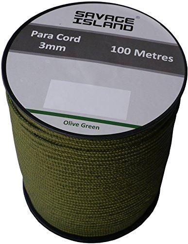 100m-reel-paracord-army-camping-tent-basha-bivi-hammock-olive-green