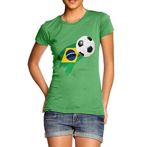 TWISTED ENVY  Damen T-Shirt Grün