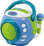 Best Cd Player para los niños - Soundmaster KCD1600 Personal CD Player Azul - Unidad Review