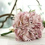 Longra Wohnaccessoires & Deko Künstliche Fake Blumen Blatt Magnolia Floral Hochzeit Bouquet Party Home Decor Kunstblumen (H)