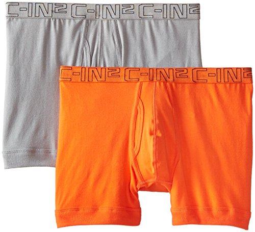C-IN2 Herren Boxershorts, 2er-Pack - Mehrfarbig - Small -