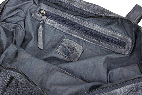 Billy the Kid Culture-Mix Letizia Sac Fourre-tout Shopper cuir 35 cm aqua blue