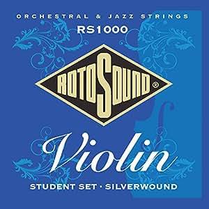 Rotosound Silver Wound Violin Economy Set