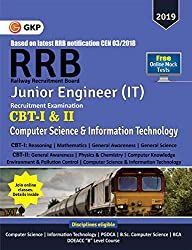 RRB (Railway Recruitment Board) 2019 - Junior Engineer CBT -I & II - Computer Science & Information Technology