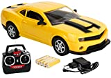 #7: Saffire Remote Control Spider Camaro Racing Car, Yellow