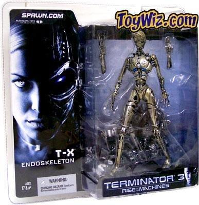 Terminator 3 T-X ENDOSKELETON Figure McFarlane NEW SEALED MOC by Unknown
