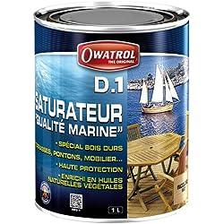 Owatrol D1Luftbefeuchter für Harthölzer 1L