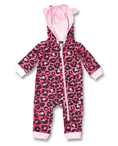 Six coniglietti rosa leopardo per neonato