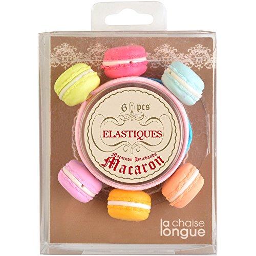 La Chaise Longue Elastiques à Cheveux Macarons Multicolores 35-1S-801