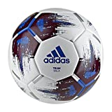adidas Team Sala Fußball, White/Maroon/Blue/Silver Metallic, Futsal