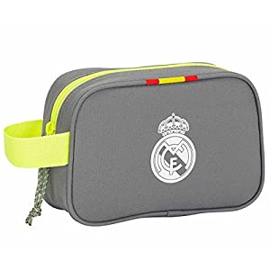Safta Real Madrid Neceser, Color Gris