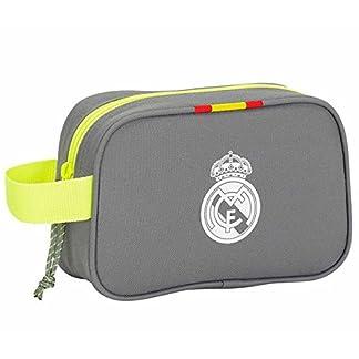 Safta Real Madrid Neceser, Color Gris