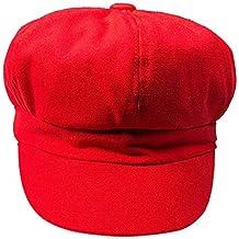 BBestseller Gorra Boina Mujer Octogonal Casual Sombreros de Sol de Verano  Sombrero de Playa Plegable al e5fba9c1d0ad