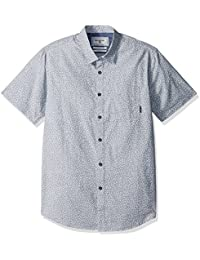 Billabong Men's Dippin Short Sleeve Stretch Woven Shirt