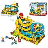 Pkjskh 195 PCS giocattolo regalo Assemblato fai da te a forma di imbuto costruzione blocchi in laterizio Particelle elementari dei giocattoli dei bambini grande scivolo particelle elementari del gioca