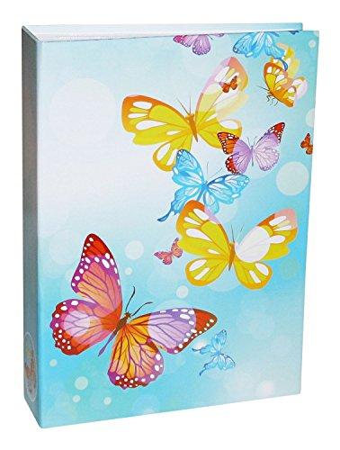 Idena plástico álbum de mariposa con Memo tiras, FSC Mix, 25,5 x 18,5 x 5,5 cm aproximadamente