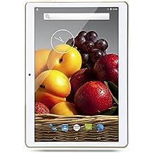 'NEW 10pulgadas (10,1) 25,54cm Tablet PC Octa Core IPS Bluetooth RAM 2GB ROM 32GB 8.0mp 3G Dual SIM Phone Call Android 7.0GPS dorado