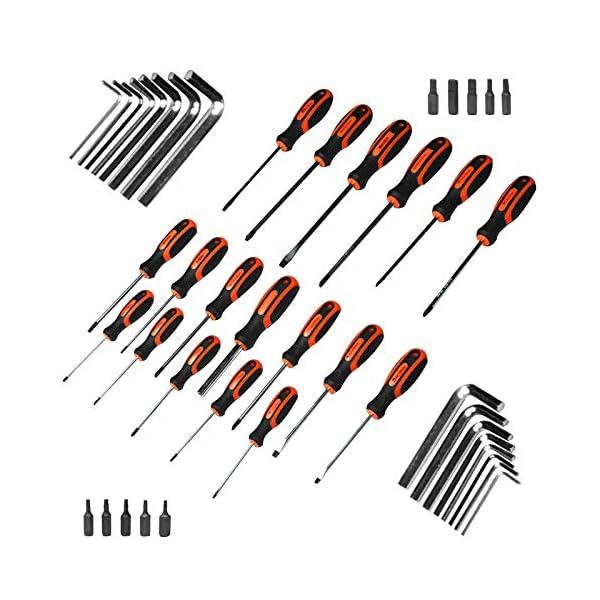 Terratek-Set-di-cacciaviti-assortiti-44-pezzi-in-lega-di-vanadio-e-cromo-con-manico-ergonomico-set-di-chiavi-a-brugola-e-punte-per-viti-incluso