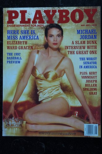 PLAYBOY US 1992 05 ELIZABETH WARD GRACEN MICHAEL JORDAN Anna Nicole Smith Michael Jordan