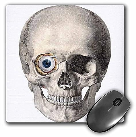 TNMGraphics Skulls - One Eyed Skull Artwork - MousePad (mp_165477_1)