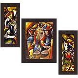 Wens 'Artistic Modern' Wall Art (MDF, 30 cm x 34 cm x 1.5 cm , WSP-4242)