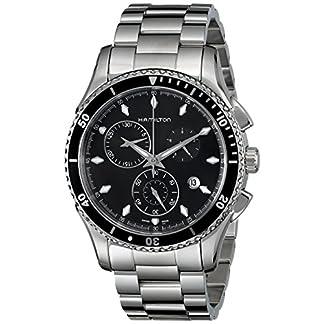 Hamilton Reloj Cronógrafo para Hombre de Cuarzo con Correa en Acero Inoxidable H37512131