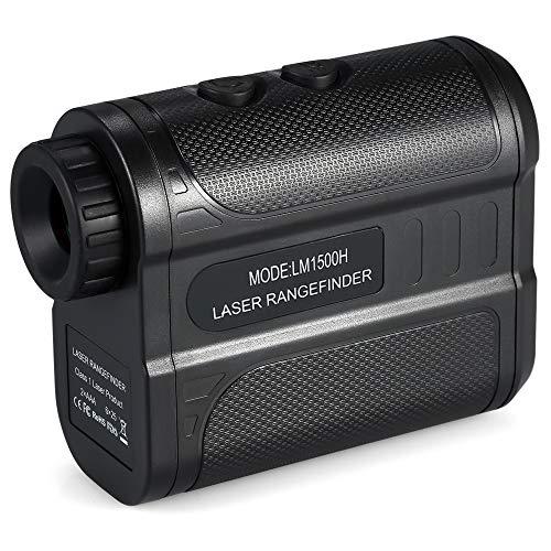 KKmoon Télémètre Portable, Télémètre Golf 1500m,...