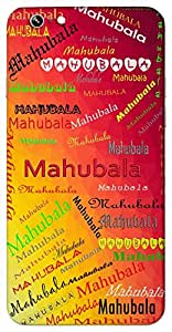 Mahubala (Popular Girl Name) Name & Sign Printed All over customize & Personalized!! Protective back cover for your Smart Phone : Asus Zenfone 6