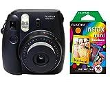 #10: Film Instax Black Mini Fujifilm 8 Instant Camera + FREE RAINBOW FILM