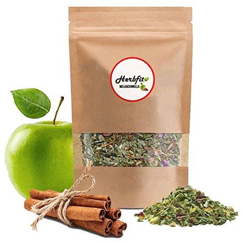 HERBFIT – Apple&Cinnamon Herbal Detox Tea– Detox Plus, Slimming tea, Diuretics for Water Retention, Weight Loss, Slimming Tea, Weight Loss Tea, Detox Plus, Detox Drink, Fat Burner (28 Days – 100 Gramms)