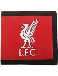 Liverpool FC - Cartera/Billetera oficial Modelo Money hombre caballero - Fútbol