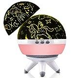 Lampe Projecteur,Cdeau Fille 2-12 ans,Licorne,lumiere bebe,cadeau licorne,4 Différents Couleurs De LED Pour Cadeau Bébé