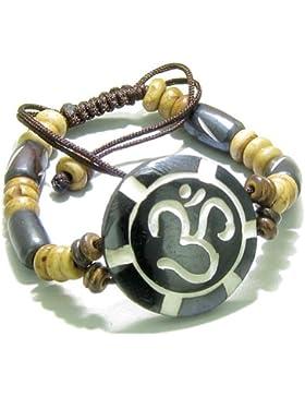 Amulet Original Tibetan OM Sun Lucky Charm Bracelet