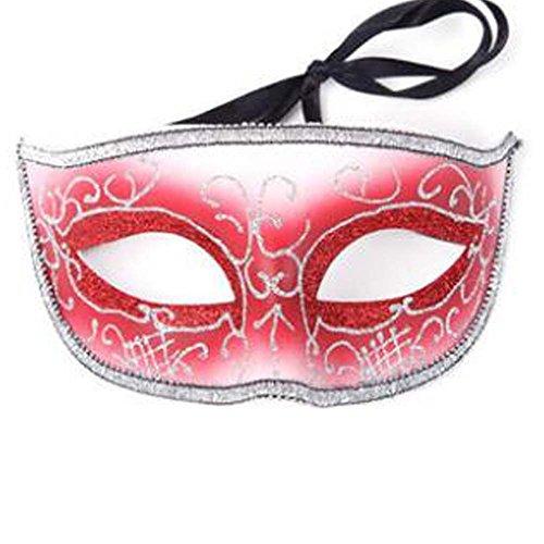 der Halloween Maske Maskerade Kostüm Maske Handgefertigt (16.5x8 cm) ()