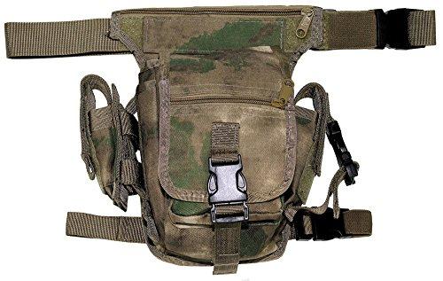 Hip Bag, HDT-camo FG, Bein- und Gürtelbefestigung -