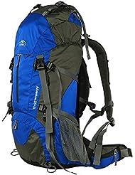 Topsky - Mochila profesional impermeable, grande, 40, 50 y 60 L, para deportes al aire libre, acampada, senderismo y montañismo, color azul, tamaño 50 L, volumen liters 60.0