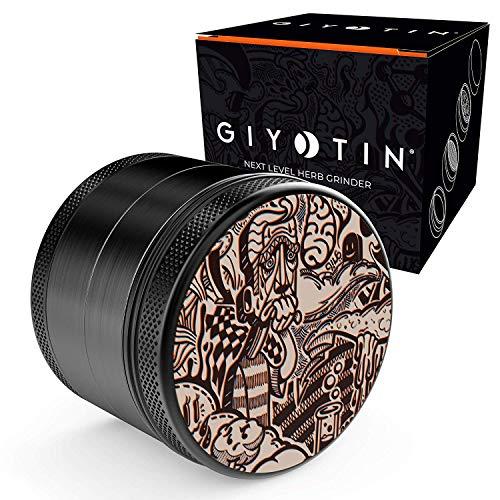 Giyotin Grinder 4 piezas | Ø 63mm | incluye