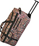 normani Reisetasche Jumbo Big-Travel 3 Rollen riesige 80 Liter XXL V4 5. Generation Indian Flower