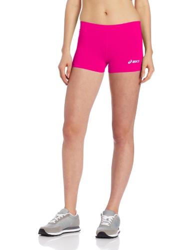 ASICS Damen Women's Low Cut Performance Shorts, Pink Glow, X-Small -