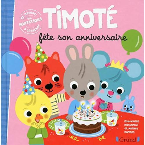 Timoté fête son anniversaire