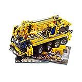 1 x Lego Technic Set Modell Construction 8421 Mobile Crane Kran gelb Technik mit BA geprüft incomplete unvollständig