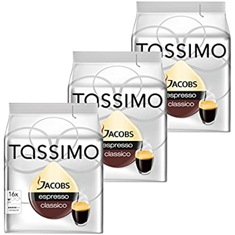 Tassimo Jacobs Espresso, Capsule Caffé, Caffé Tostato