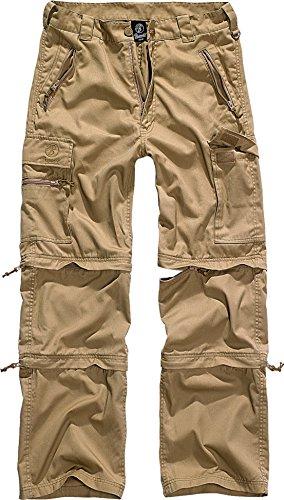 Brandit Savannah Herren Zip Hose Camel XL