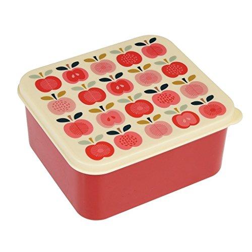 dotcomgiftshop Butterbrotdose Vintage Apple 26174 Lunchbox