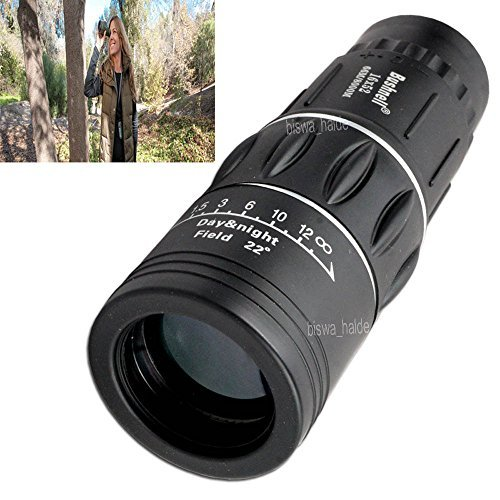 Bushnell 16x52 Dual Focus Zoom Outdoor Travel Monocular Telescope Binocular Hunt