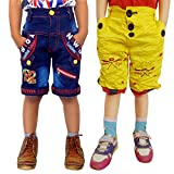 AD & AV PACK OF TWO COTTON SHORTS(ONE DE...